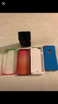 White, blue, and pink iphone cases Knightdale, 27545