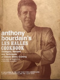 Anthony Bourdain cookbook Lorton, 22079