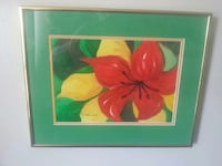 red and yellow flowers painting Belleville, K8P 4E1