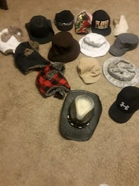 Hats asking 40 for all black cowboy hat 25 skulls  Mount Juliet