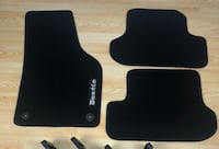 OEM Genuine Volkswagen Beetle Black Mats