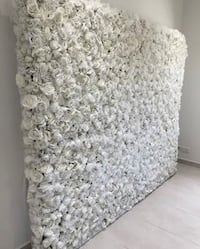 Floral Rose Flower Wall Backdrop