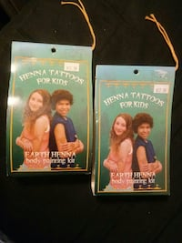 2 Henna Body Painting Kits for Kids Fall River, 02724