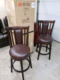 30 inch solid wood barstools, 4 available, price per chair,  BRAND NEW