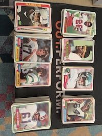 Early 1980's Football Cards
