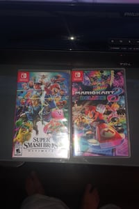 Super Mario 8 deluxe & Super Smash Bro's Ultimate