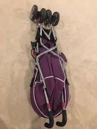 black and red golf bag Bristow, 20181