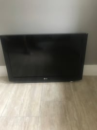 "LG 32"" TV with wall mounting bracket.  Do not have table top stand.  Perfect condition  Lake Mary, 32746"