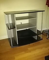 Black and silver entertainment center  Louisville, 40217