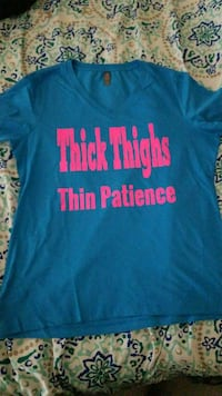Thick Thighs Thin Patience Size XL  Killeen, 76549