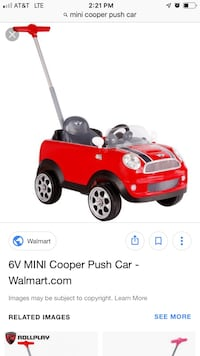Mini Cooper Foot to Floor Ride on Toy