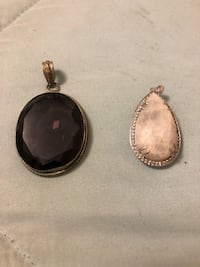 Amethyst and Moonstone Pendants Milwaukee, 53228