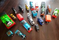 13 Thomas & Friends toy trains (engines and cargo cars)