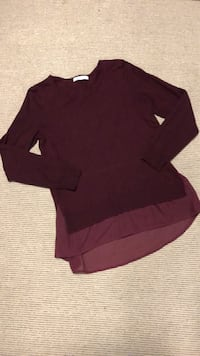 Maroon sweater  Vaughan, L6A 1Z1
