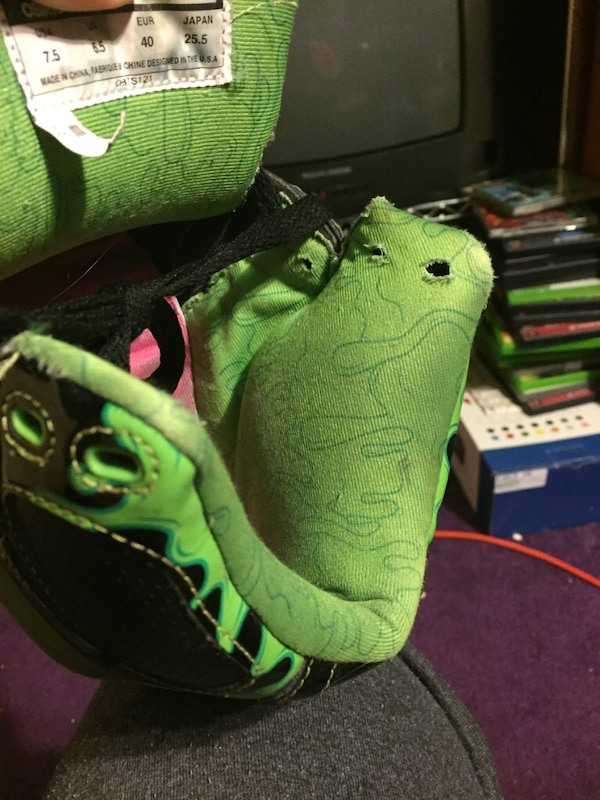 328332870a Used Limited edition Goosebumps Osiris sneakers. for sale in ...