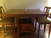Dining room table with matching Sideboard