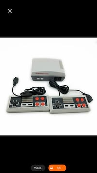 Mini Retro gaming console with NES games built in 620 games built in  Toronto, M1P 2R2