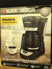 Black & Decker minuterie programmable coffeemaker box
