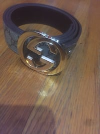 Black and gray gucci leather belt Otonabee-South Monaghan
