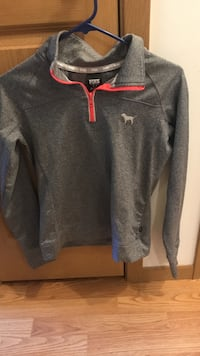 gray and white zip-up hoodie Bloomington, 55431