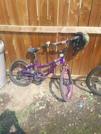 toddler's pink and black bicycle Calgary, T2A 3N6