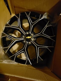 24 inch Chevy truck rims never used  North Miami, 33161