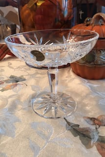 Cristal d'Argues Genuine 24%Lead Crystal Compote