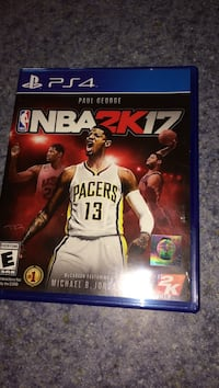 NBA 2K17 PS4 game case Mount Airy, 21771