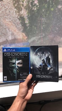 two Sony PS4 game cases Phoenix, 85308