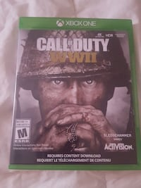 Call of duty world war 2  for Xbox 1