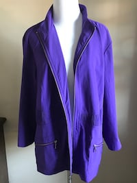 Jacket Purple by Chico Zenergy Size 3