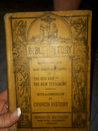 Antique bible New Westminster