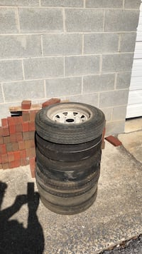 trailers or whatever  7 wheels  with tires 4lug  4-80-12  make offer  Greencastle, 17225