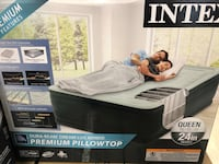 Intex airbed with air bed box Torrance, 90503