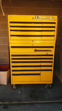 Used Yellow And Black Cornwell Tool Chest For Sale In