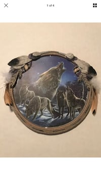 """Call of the Night"" Wilderness Glow in the Dark Plate Collection  Sioux Falls, 57108"