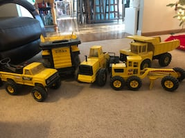 Tonka Truck Collection