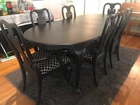 Dining table with 6 chairs (2 armchairs and 4 regular chairs) Pasadena, 91104