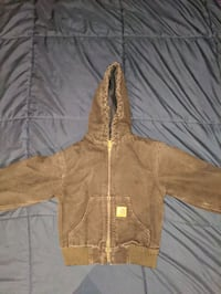 Kids Carhartt Quilt Lined Hooded Jacket