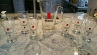 Michelob Beer Pitcher and Glasses Set Potomac Falls, 20165