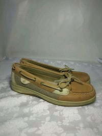 Sperry leather flats, size 7 Seattle, 98198