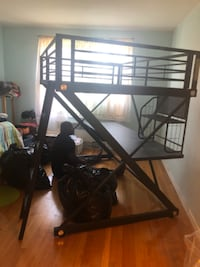 Black Loft Bed  WASHINGTON