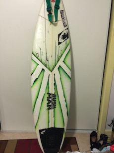 white green and black surfacing board