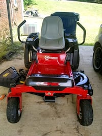 red and black ride on mower Heflin, 36264