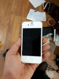 white iPhone 5 with case 643 km