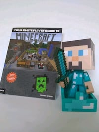 Minecraft Steve Vinyl Figure and Ultimate Player's Guide Whitchurch-Stouffville, L4A 0J5