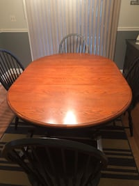 Table and 6 chairs Perry Hall