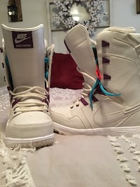 $100 OBO Woman's size 8 Nike Snowboarding Boots Salt Lake City, 84109