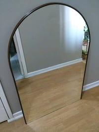 brown wooden framed wall mirror Mississauga, L5A 3R1