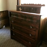 Antique Glove Box Dresser Newmarket, 03857